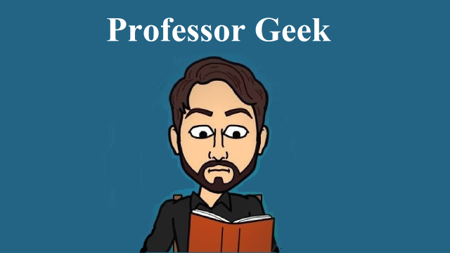 Professor Geek Book